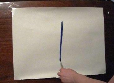 Рисование пальчиками - Бабочка красками (7)