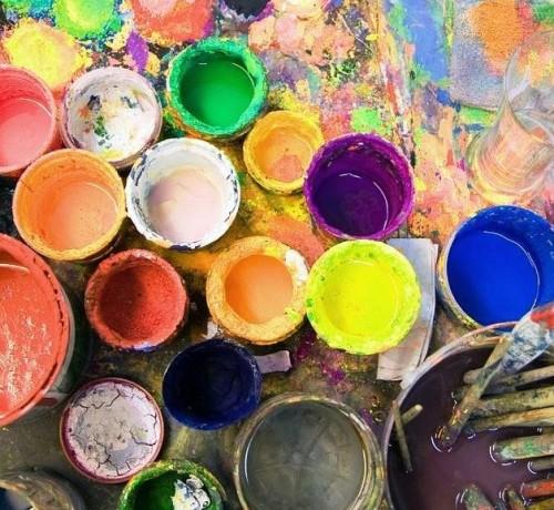 как рисовать гуашевыми красками
