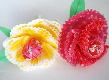 Поделки на 8 марта для детей - поделки из бумаги цветы (3)
