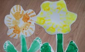 Поделки на 8 марта для детей - поделки из бумаги цветы (2)
