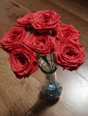 Поделки на 8 марта для детей - поделки из бумаги цветы (1)