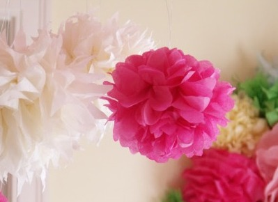 Поделки на 8 марта для детей - поделки из бумаги цветы (13)