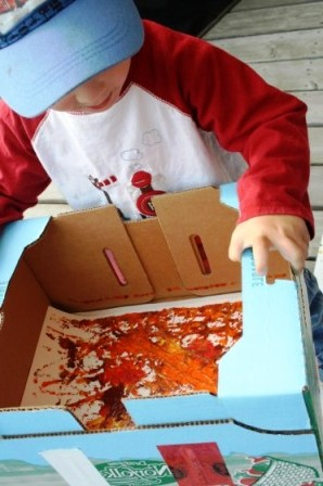 Коробка с сладостями своими руками