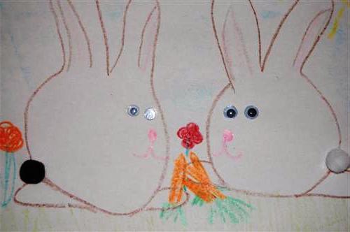 Как сделать пасхального зайца (3)