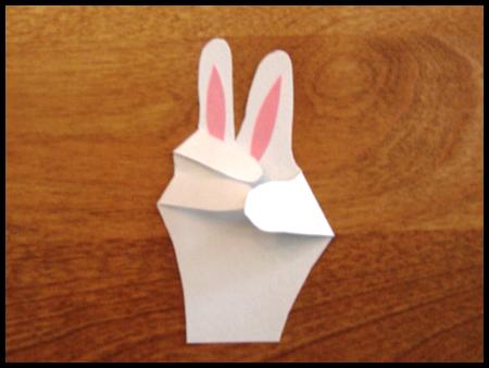 Пасхальные поделки - корзина и заяц (15)
