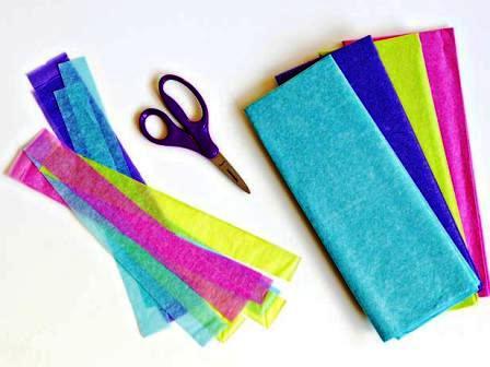 Как сделать своими руками цветы из бумаги (12)