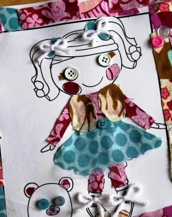 Куклы своими руками из бумаги и ткани