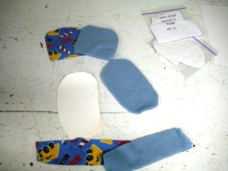 Обувь для детей своими руками (2)