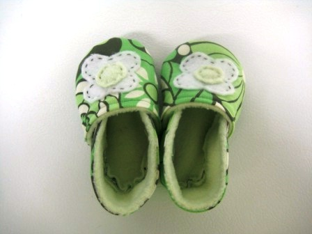 Обувь для детей своими руками (14)
