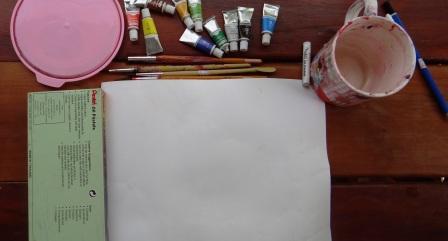 Поэтапное рисование для детей - Весенний букет (9)