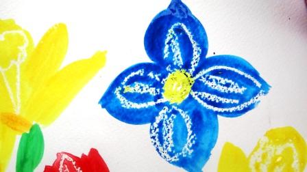 Поэтапное рисование для детей - Весенний букет (3)