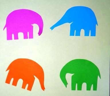 Поделка слон из бумаги (4)