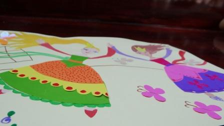 Аппликация для девочки - Принцессы балерины (2)