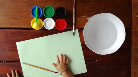 Рисование пальчиковыми красками (12)