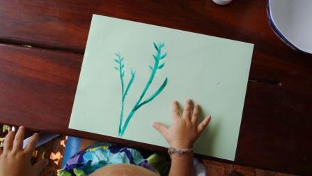 Рисование пальчиковыми красками (11)