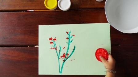 Рисование пальчиковыми красками (10)