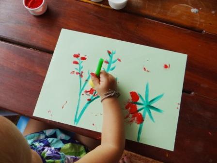 Рисование пальчиковыми красками (9)