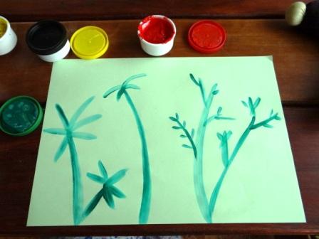 Рисование пальчиковыми красками (8)