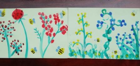 Рисование пальчиковыми красками (4)