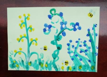 Рисование пальчиковыми красками (3)