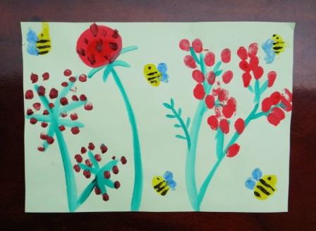 Рисование пальчиковыми красками (2)