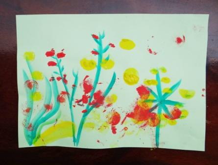 Рисование пальчиковыми красками (1)