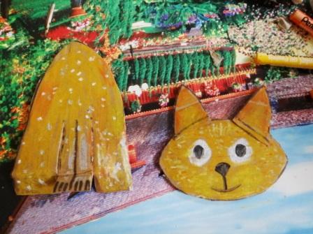 Поделка Кошка (6)