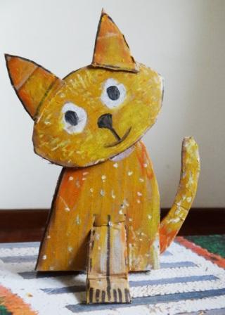 Поделка Кошка (5)