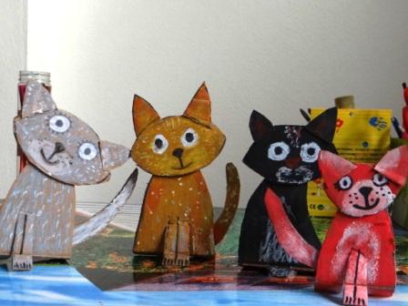 Поделка Кошка (3)