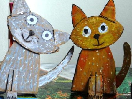 Поделка Кошка (2)