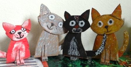 Поделка Кошка (1)