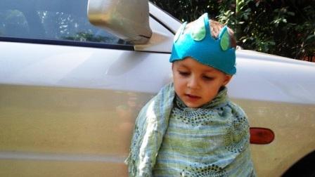 Детская повязка – корона на голову