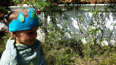 Детская повязка на голову - Корона (1)