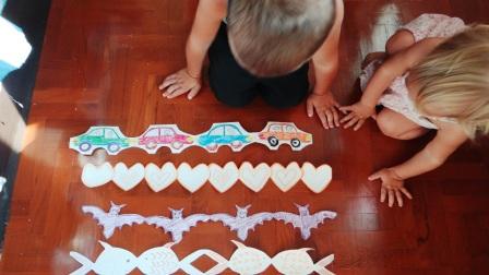 Гирлянда из бумаги: машинки, сердечки, рыбки (2)