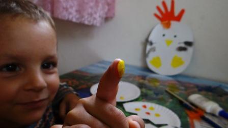 Поделка Мама курица и рождение птенца (7)