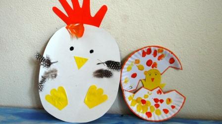 Поделка Мама курица и рождение птенца (14)