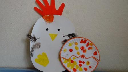 Поделка Мама курица и рождение птенца (3)