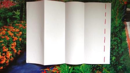 Складные бумажные человечки (11)