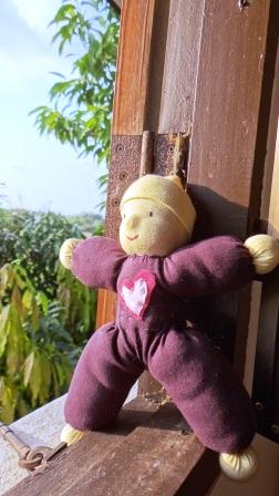 Вальдорфская кукла своими руками - малышка (3)