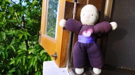 Вальдорфская кукла своими руками - малышка (1)