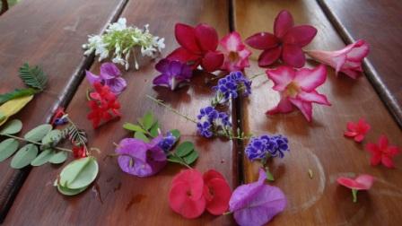 Декупаж свечей сухоцветами - МК (2)