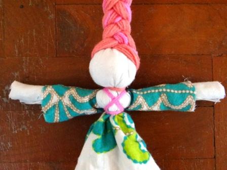 Кукла Веснянка - весенние поделки своими руками (6)