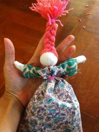 Кукла Веснянка - весенние поделки своими руками (5)