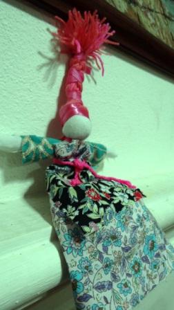 Кукла Веснянка - весенние поделки своими руками (3)