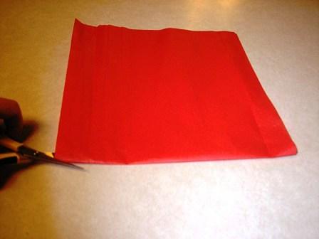 Цветы из папиросной бумаги (5)