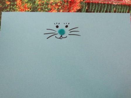 Пасхальная поделка - Кролик из бумаги (8)