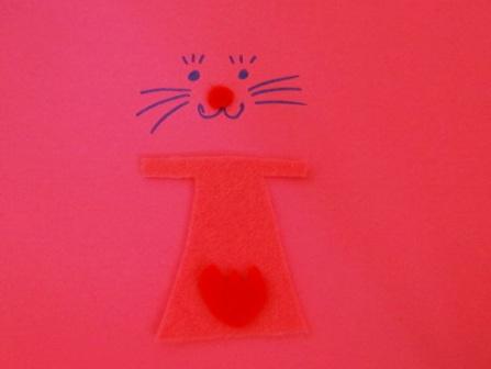 Пасхальная поделка - Кролик из бумаги (5)