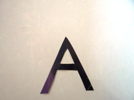 "Учим букву ""А"" - поделки (6)"