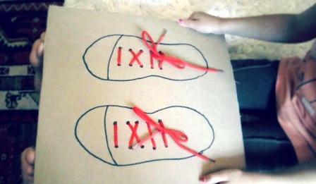 Учимся завязывать шнурки (5)