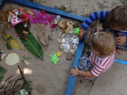 Игры в песочнице - ферма для животных (2)